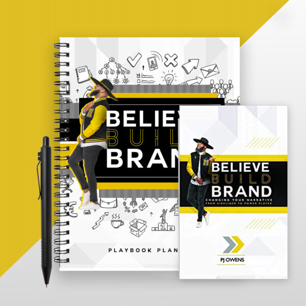 BELIEVE BUILD BRAND BUNDLE - BOOK + PLAYBOOK