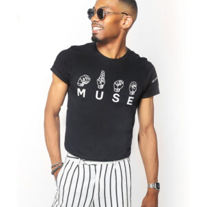 MUSE FOR THE DEAF CULTURE T-SHIRT