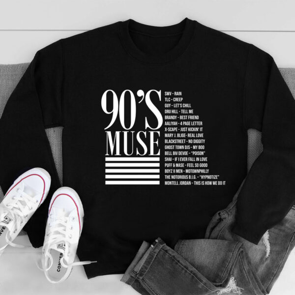 MUSEIK in the '90s Sweatshirt
