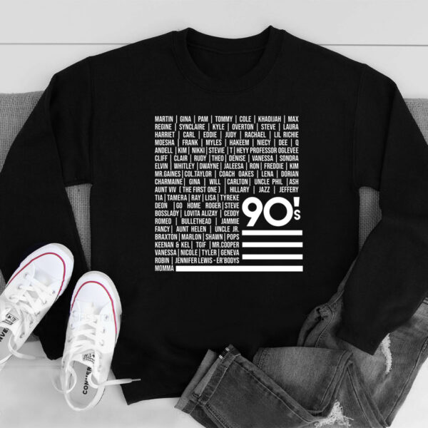 '90s TV Sweatshirt